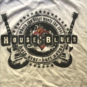VINTAGE HOUSE OF BLUES LAS VEGAS T SHIRT